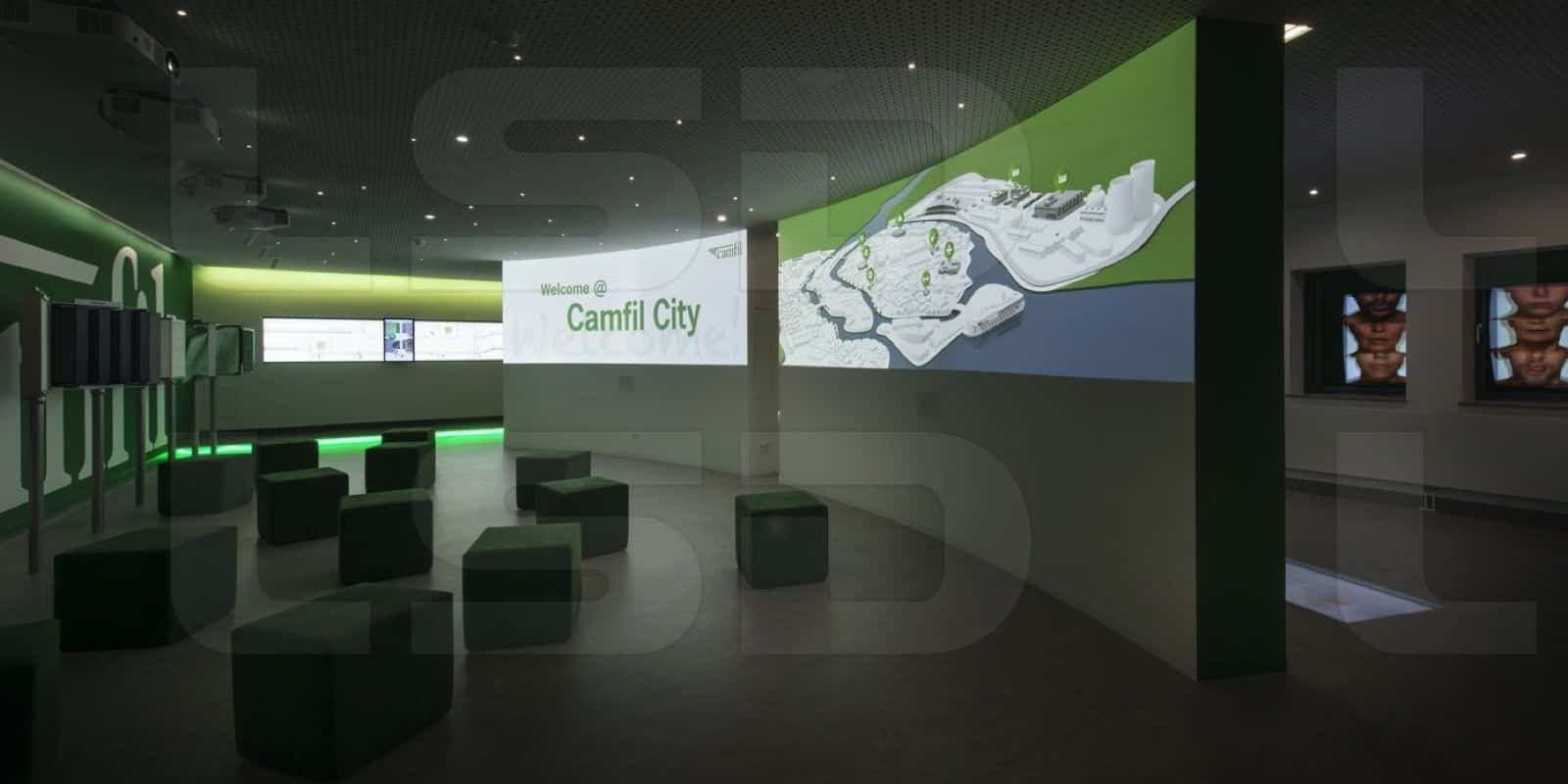Camfil Showroom - progetto Alberto Crosio